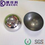 """1 '' шарик нержавеющей стали 2 """" 3 '' половинный для отделки бомбы ванны отполированной прессформой"""