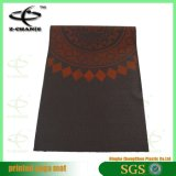 Stuoia antiscorrimento della stampa di disegno di modo del PVC di yoga della stuoia di vendita su ordinazione della fabbrica