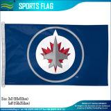 Los indicadores de encargo, indicador de los deportes, NHL señalan por medio de una bandera, los indicadores de los Whalers de Hartford (J-NF01F09079)