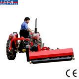 コンパクトなトラクターの側面の殻竿の芝刈り機の使用の倍のハンマーの刃