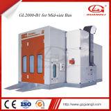 Le ce d'approvisionnement d'usine de Guangli a reconnu le système de chauffage Maintainancewater-Basé par automobile de cabine de jet de véhicule de peinture