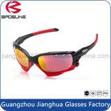 Верхнее качество дешевый Tac поляризовывало задействуя подгонянные изумлёнными взглядами солнечные очки гольфа бейсбола волейбола печатание логоса