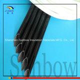7.0kv Rubber van het Silicone van de glasvezel het Sleeving Met een laag bedekte