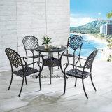 Сад Treasures мебель патио для стула банкета роскошного литого алюминия напольного