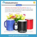 De Veranderende Mok van de Kleur van de Koffie van de douane met de Koppen van de Foto van de Druk