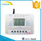 indicador cobrando solar do LCD dos controladores de 80A 12V 24V para o sistema solar com USB L80
