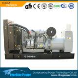Générateur diesel mobile se produisant refroidi à l'eau portatif électrique de remorque réglée