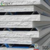 Comitato di parete della gomma piuma di poliuretano di prezzi del pannello a sandwich del tetto dello strato del ferro