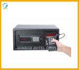 Caixa segura do dinheiro elétrico do indicador de diodo emissor de luz para o hotel