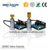 Scanner di Galvo dell'indicatore Js2807 del laser del CO2 per imballaggio medico