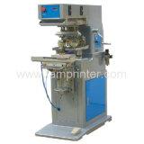 직물 (TM-S2-MT)를 위한 셔틀을%s 가진 2 색깔 잉크 쟁반 패드 인쇄 기계