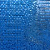 Shinny кожа крокодила Faux PVC для драпирования сумки