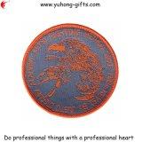 Overlockの端(YH-EB017)が付いている衣服の刺繍の紋章