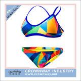De open Hete Sexy Bikini Swimwear van Vrouwen met de Druk van de Sublimatie