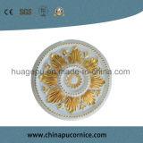 Het artistieke Medaillon van het Plafond van het Polyurethaan van het Medaillon van het Plafond van Pu