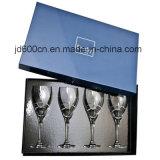 Vente en gros de empaquetage personnalisée de cadre en verre de vin