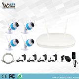 新しいデザイン4CH 1080P NVR CCTVシステムIPカメラ