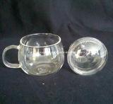 Чашка стекла стены двойника кружки кофеего домашнего чая творческая