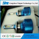 Phare automatique de la lampe DEL H7 de tête d'éclairage d'automobile de nécessaire de véhicule