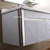 Vaidade do banheiro do aço inoxidável da alta qualidade com prateleira 078
