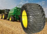 Pneus agricoles de remorque de flottaison de machines de la ferme Trc-03 600/55-22.5 pour l'écarteur, moissonneuse, coffres de camion-citerne