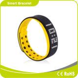 Zeit-Dattel-Bildschirmanzeige-Spuren-Kalorie-bewegliche Jobstepps und Abstand 24 Stunde intelligentes Alarmsport-Armband überwachend