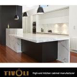 新しい考えの食器棚のペンキ白いTivo-0164V