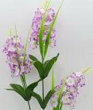 Solo vástago de la flor artificial/plástica/de seda de la lila (XF31023)