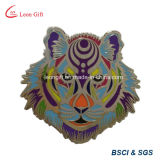 Vente en gros Custom Tiger Hard Enamel Badge Lapel Pin
