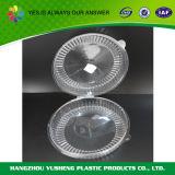 De duidelijke Plastic Container van de Cilinder, de Beschikbare Container van de Cake