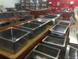 Manufacturer Cheap Double Bowl Polish Kitchen Stainless Steel Sink clouded