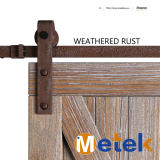 Rolo de hardware de porta de celeiro deslizante de ferro estilo antigo