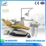 Unidad dental de la silla con el rectángulo incorporado del tejido (KJ-916)