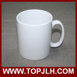tazze di ceramica di sublimazione bianca in bianco rivestita bianca della tazza del grado di 11oz AAA