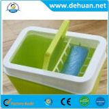 Le ménage en plastique de vente chaude réutilisent la poubelle de plastique de coffre de détritus