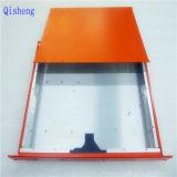 CNCの機械化の部品、オレンジ粉のコーティング