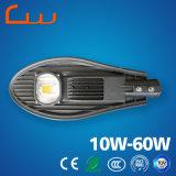 Luz de calle brillante estupenda del vatio LED de la venta al por mayor 60 de la fábrica