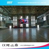 空港のためのアルミ合金/鋼鉄ジャイアントP3.91 SMD2121屋内広告の固定LED表示スクリーン