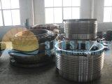 Alimentador da venda quente e planta de vibração móveis do triturador do cone