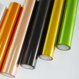 Papier de feuille métallique pour le cuir de papier en plastique