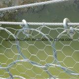 Rete metallica/maglia esagonali galvanizzate