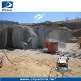 O fio do diamante viu a máquina para a pedreira de pedra do granito e do mármore