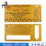 경비 시스템을%s 주문을 받아서 만들어진 열 박판 지능적인 RFID PVC 카드