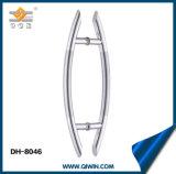 Acciaio inossidabile 201, maniglia di portello di vetro 304 (DH-8046) di alta qualità