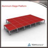 Plataforma retrátil do estágio do concerto ao ar livre de alumínio para a venda