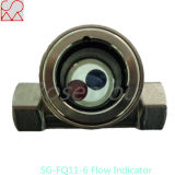 Tianhe vidrio de vista micro del indicador de la corriente de la bola
