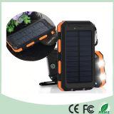 Wasserdichte Doppel-USB-Handy-Sonnenenergie-Bank-Aufladeeinheit mit Doppel-LED-Licht (SC-6688)