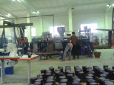 Rainboots plástico que faz a máquina