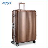 Junyou Größe 20 '' 24 '' Form PC teilweiser harter Laufkatze-Gepäck-Kasten