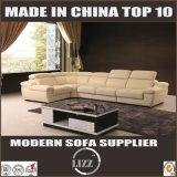 ベストセラーのイタリアの革ソファーの現代木製の家具